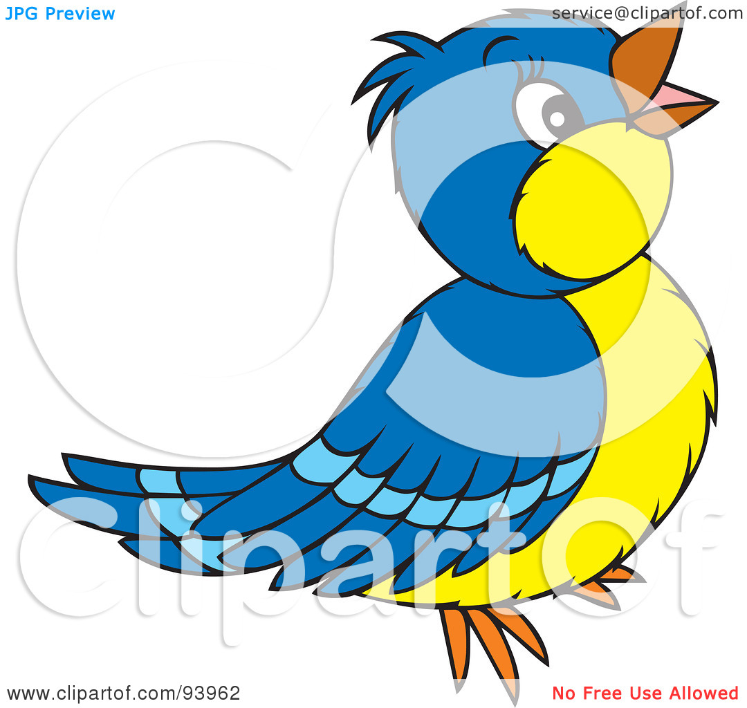 1080x1024 Singing Bird Clipart