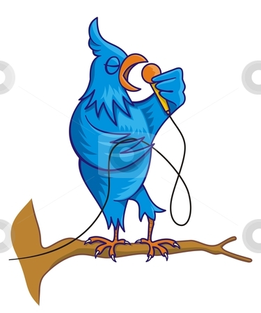 375x450 Songbird Clipart Bird Singing