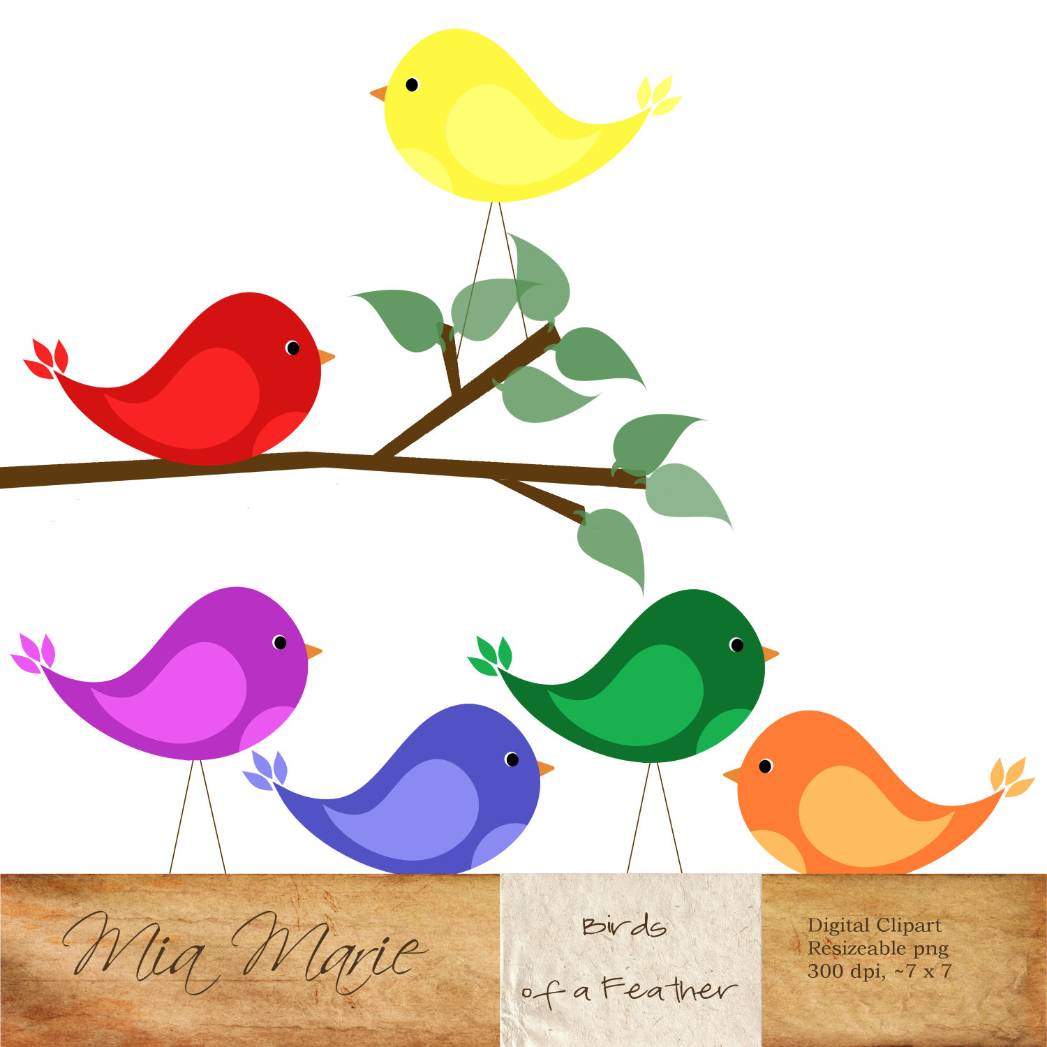 1500x1500 Tree Clipart Bird
