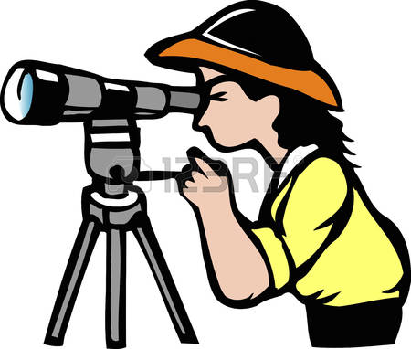 450x382 Bird Watching Clipart