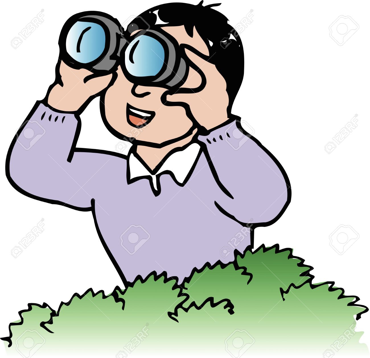 1300x1256 Birdwatching Clipart