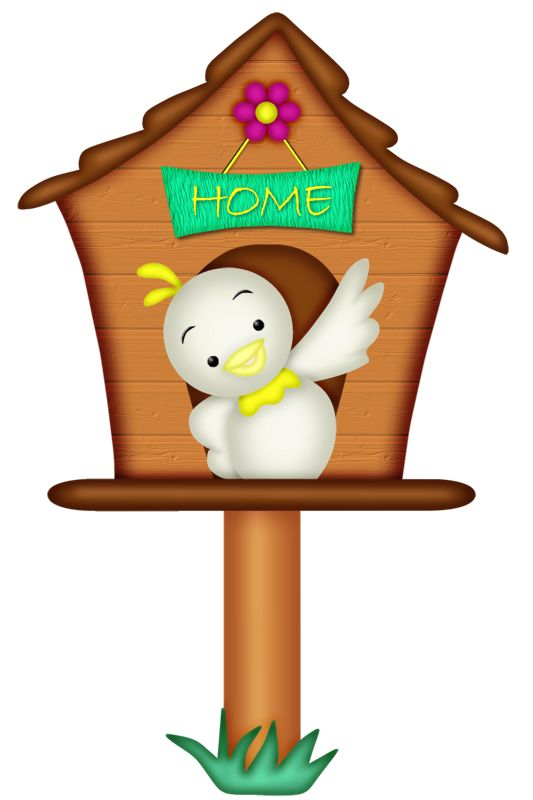 533x800 55 Best Clip Art On Bird Houses Images Drawings