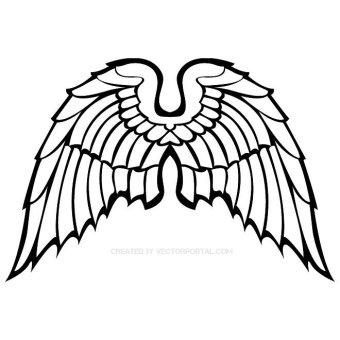 Bird Wings Clipart