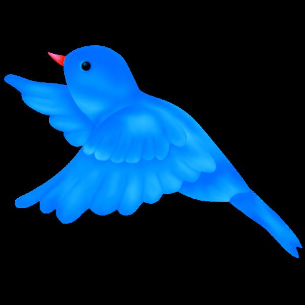 600x600 Blue Bird Clipart 4