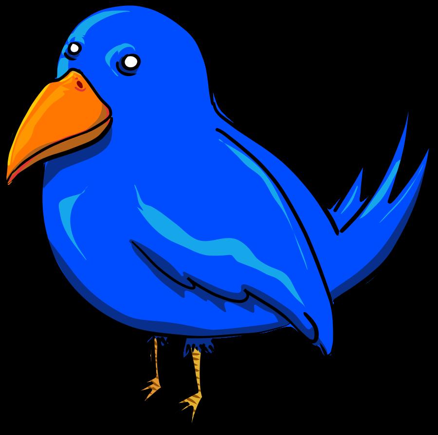 900x892 Cute Blue Bird Clip Art Free Birds 2