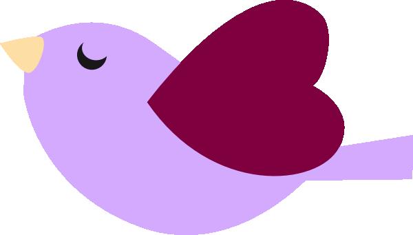 600x341 Purple Bird Clip Art
