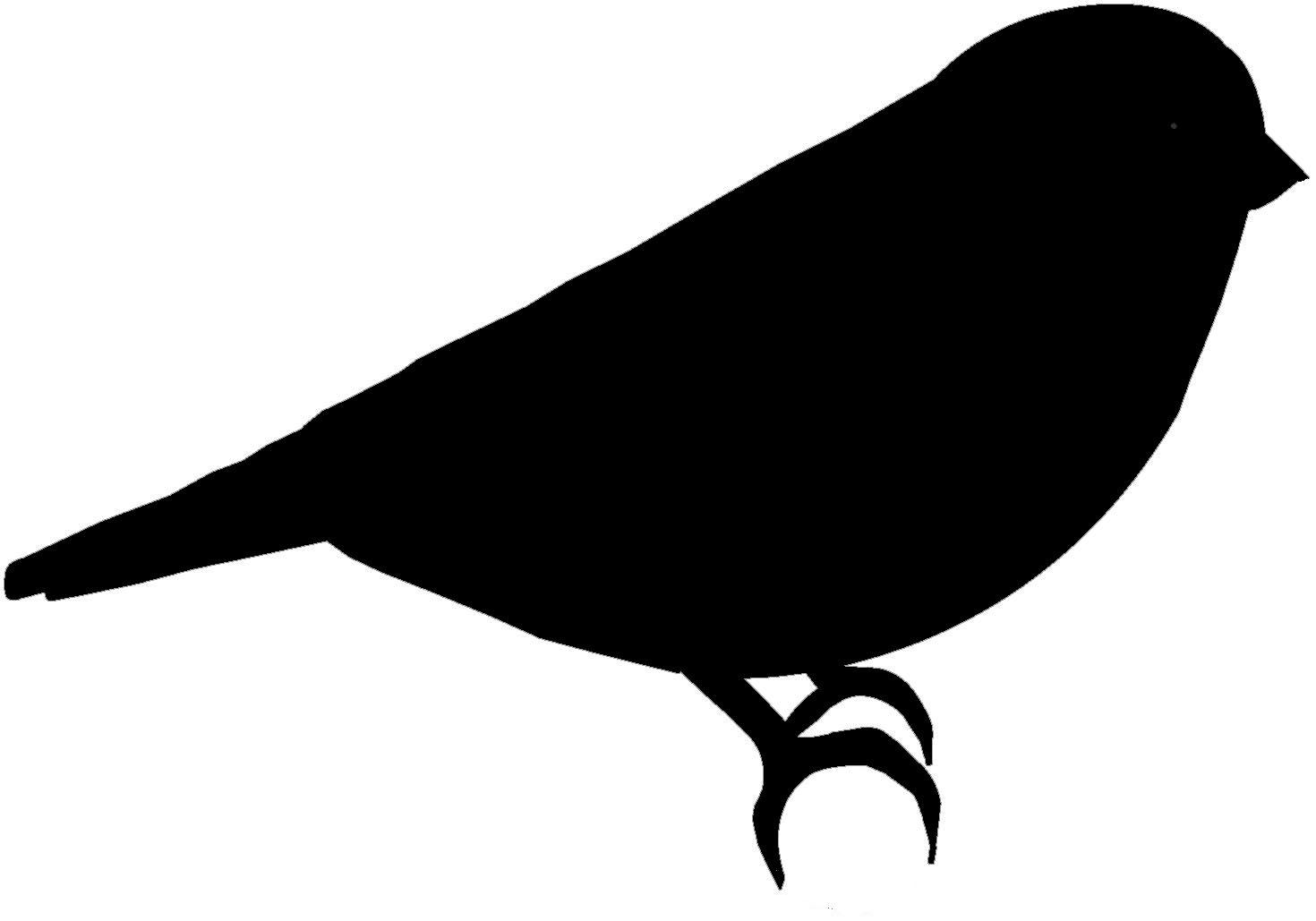 1470x1029 Bird Outline Clip Art