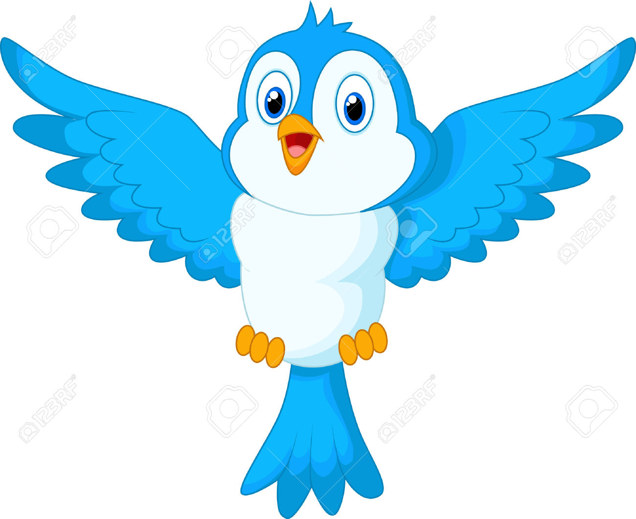 1300x1061 Bluebird Clipart Bird Fly