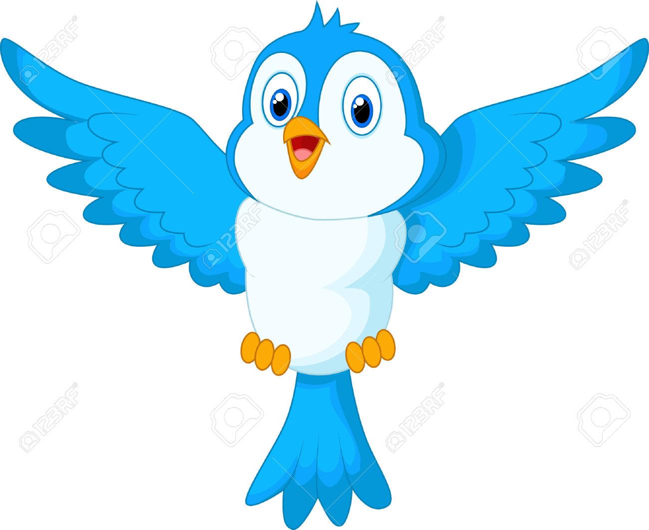 1300x1061 Bluebird Clipart Bird Fly
