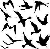 170x166 Flying Bird Clip Art