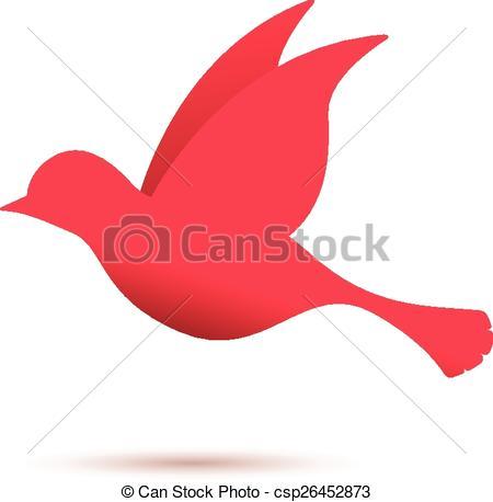 450x458 Bird Flying Clipart