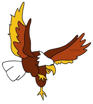 320x360 Bird Of Prey Clipart