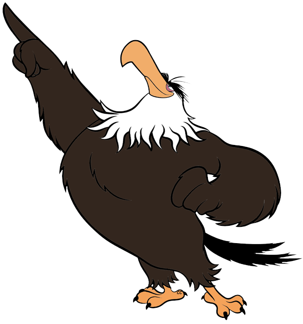 596x637 Bird Of Prey Clipart Cartoon