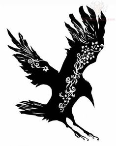 236x297 Flying Crow Silhouette Clip Art Crafts Crow