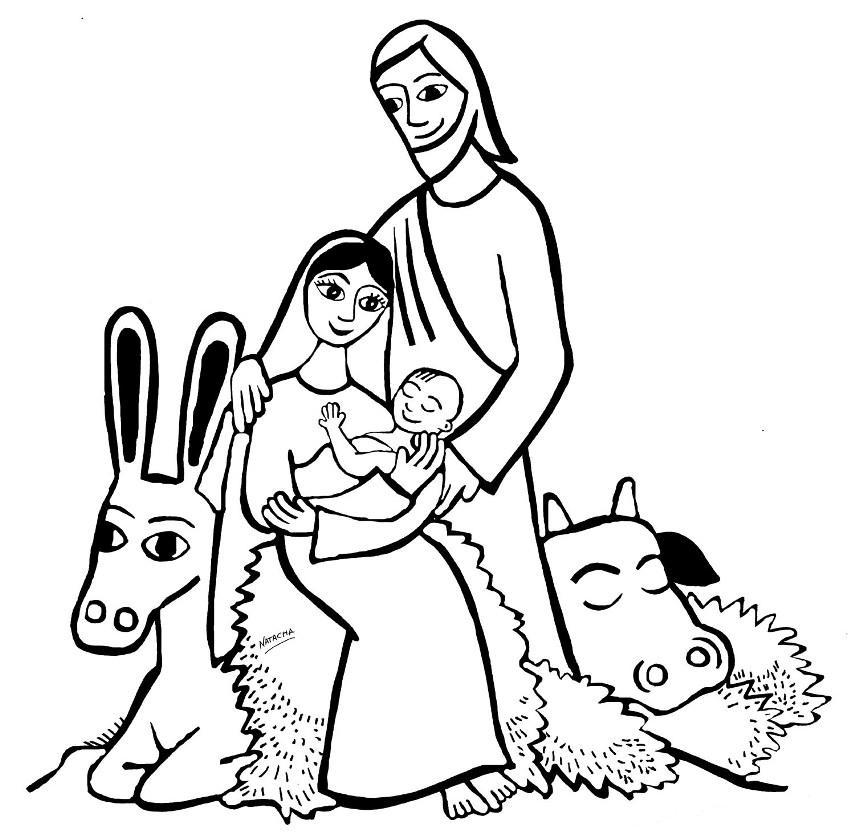 855x834 Birth Of Jesus Coloring Pages Many Interesting Cliparts