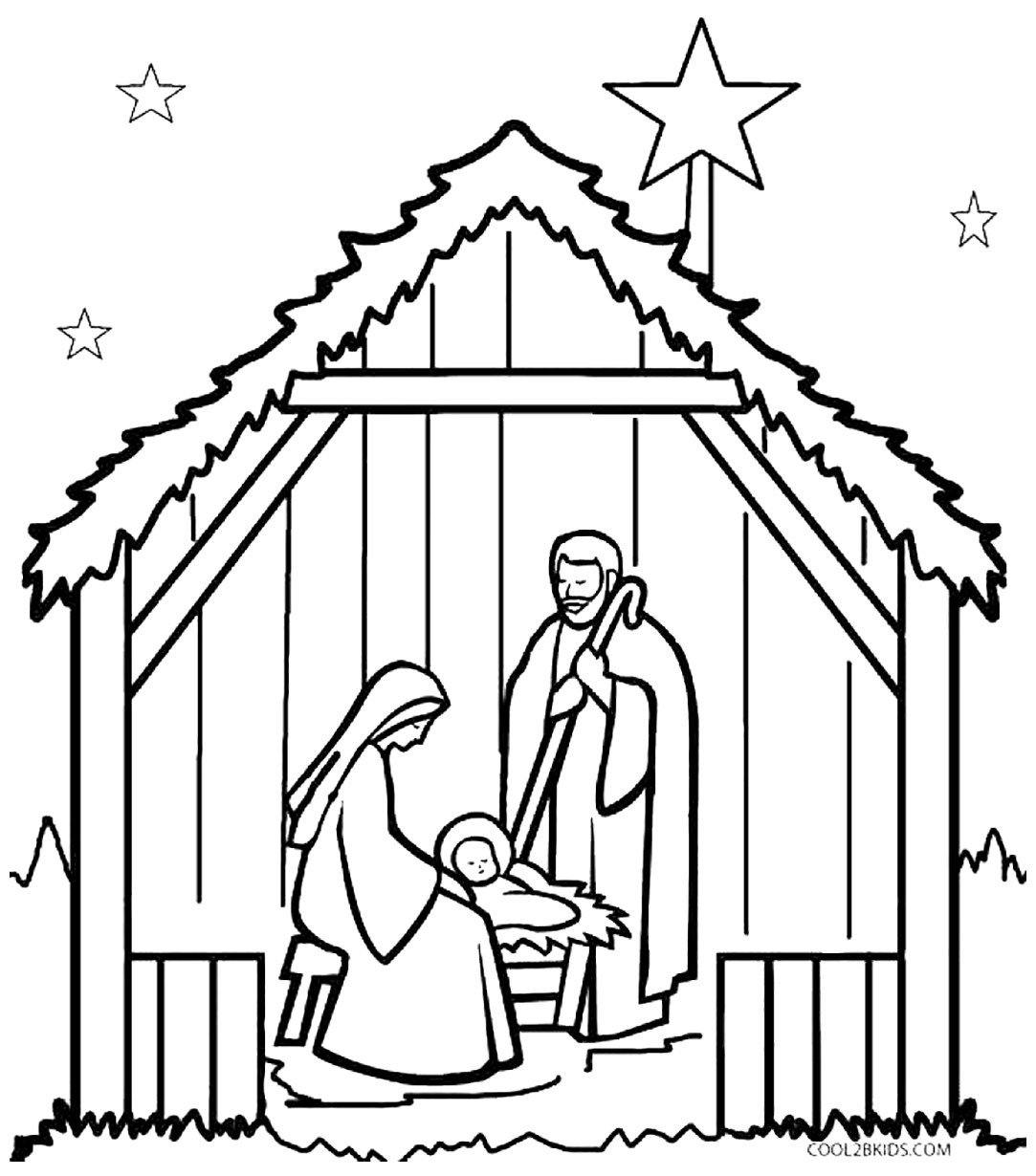 1083x1230 Free Christian Coloring Pages For Young And Old Children Level 2