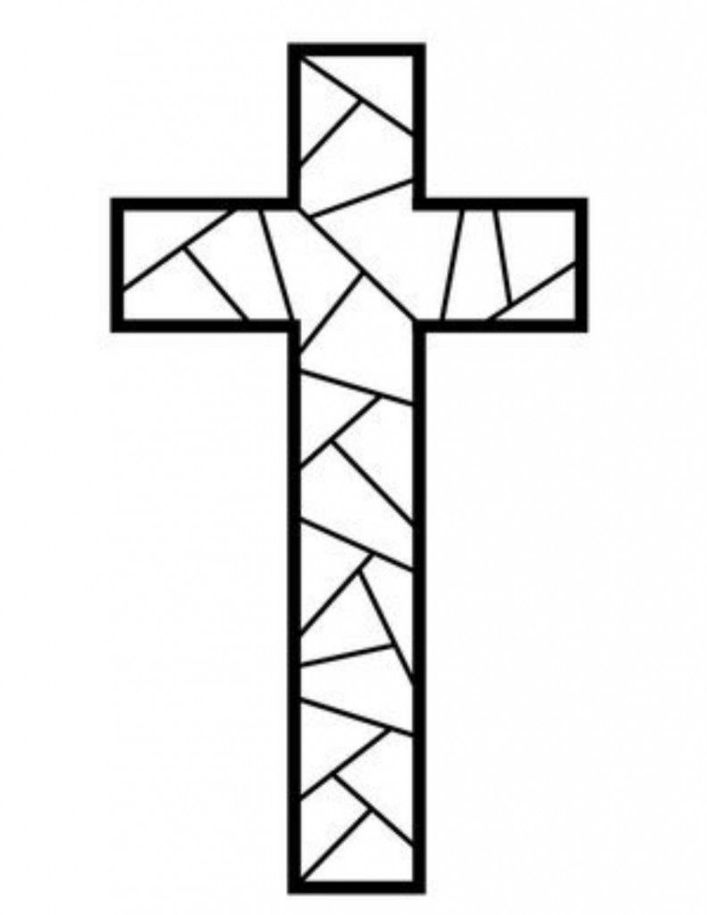 791x1024 Free Printable Cross Coloring Pages Free Printable, Sunday