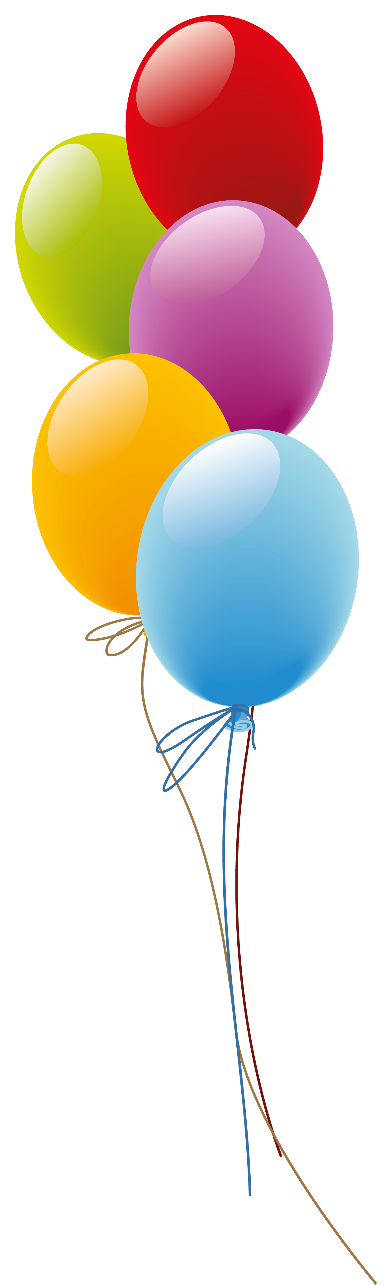 1246x4117 Balloons Png Picture Kunterbunt Birthdays, Happy