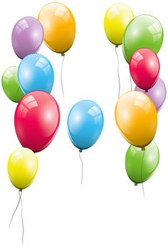 236x345 Large Transparent Colorful Balloons Clipart Clipart