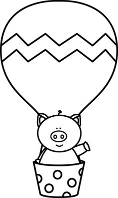 236x395 Hot Air Balloon Coloring Pages Kids Stuff Hot Air