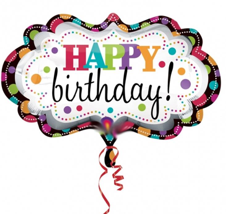 732x694 Birthday Balloons
