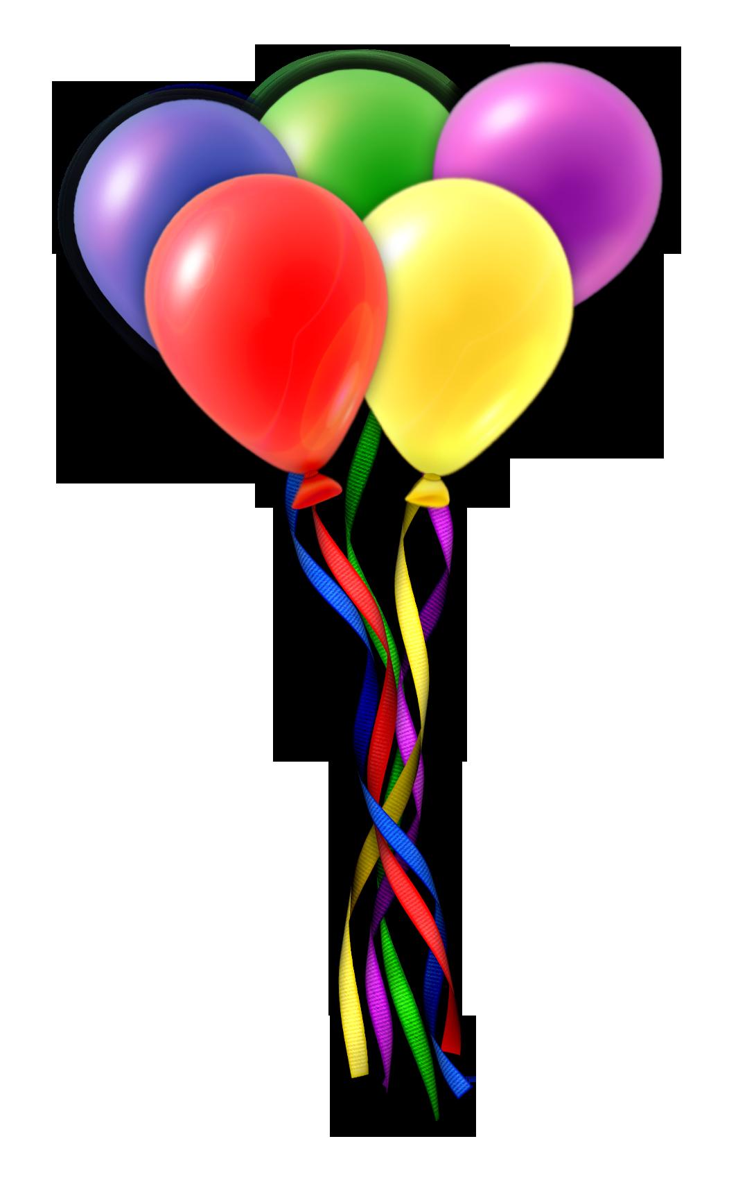 1065x1704 Birthday Balloons Clipart