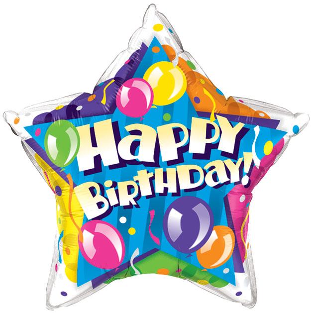 629x629 Birthday Balloons Cliparts
