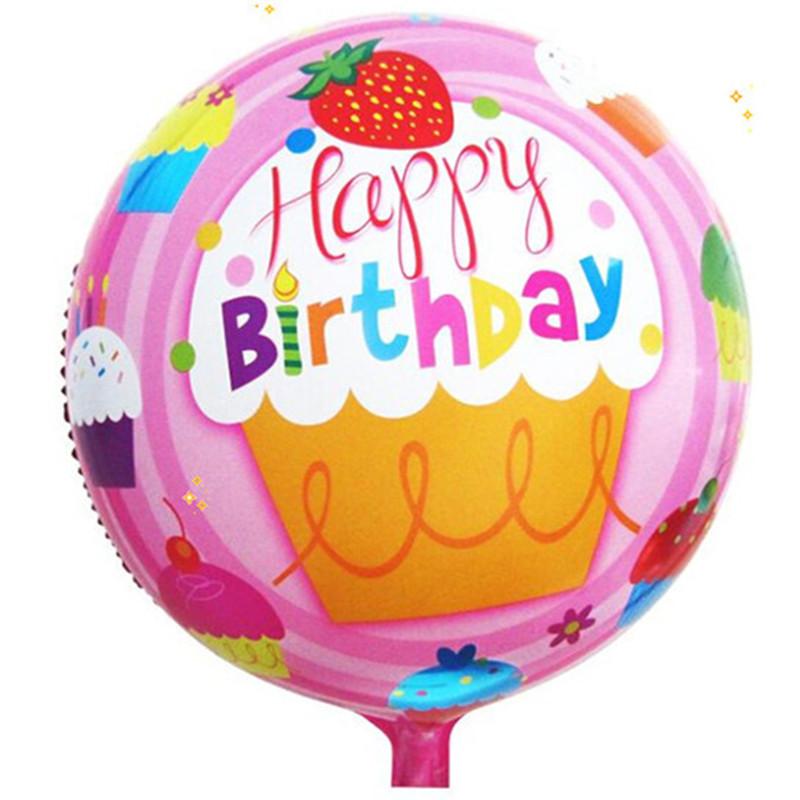 800x800 Gogo Paity 18 Inch Round Aluminum Balloons Happy Birthday Balloons