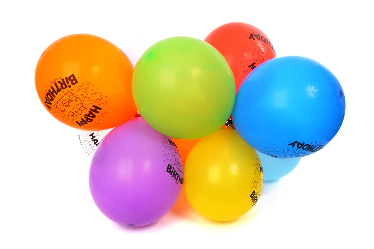 1280x853 Happy Birthday Balloons Free Stock Photo