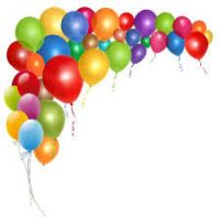 200x200 Birthday Balloons Clipart