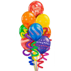 300x300 Happy Birthday balloons clipart 8 Nice clip art