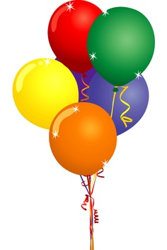 236x352 Birthday Balloons Clip Art Inderecami Drawing