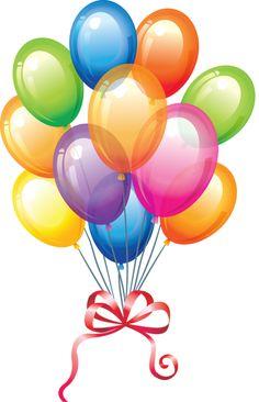 236x366 Christmas Birthday Balloons Clipart