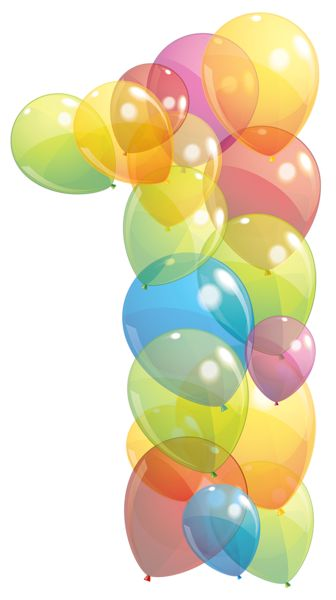Birthday Balloons Png