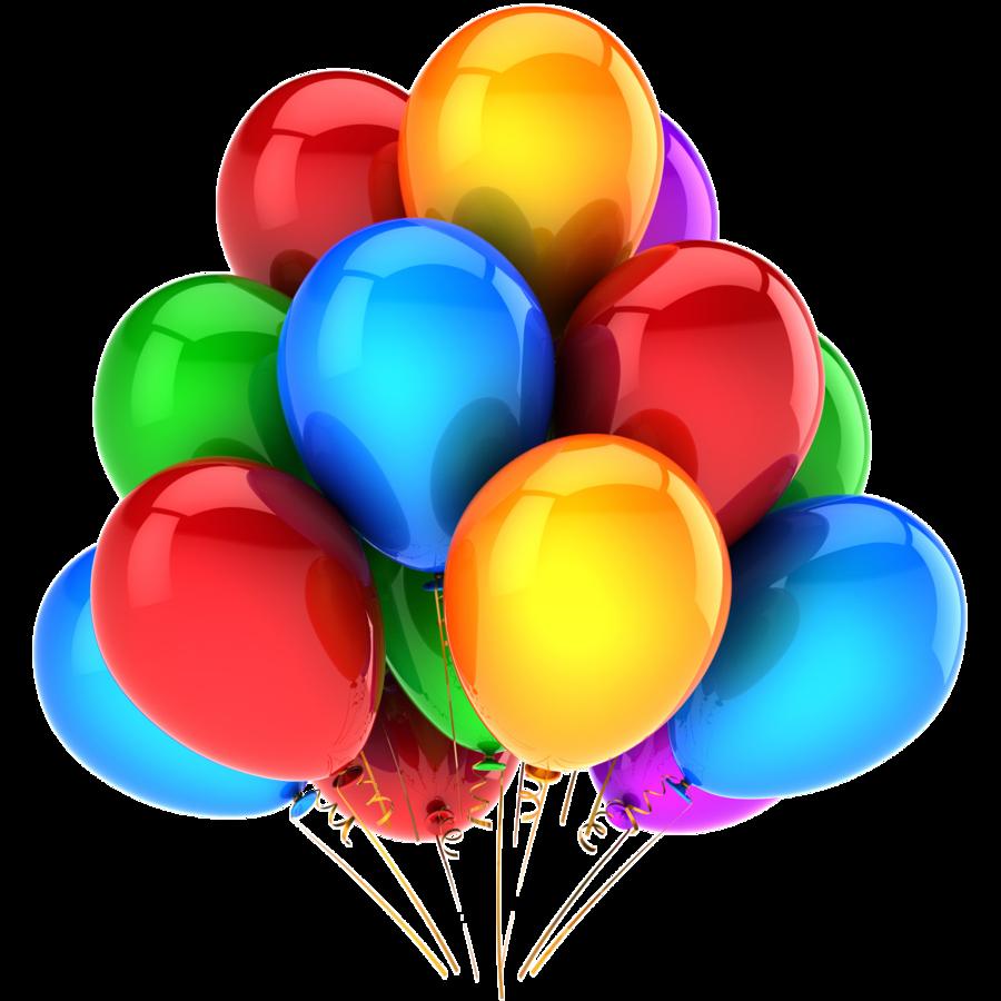 900x900 Birthday Balloons Png