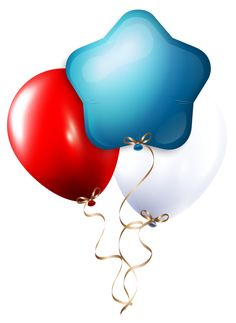 236x323 Transparent Three Balloons Png Clipart Luftballons