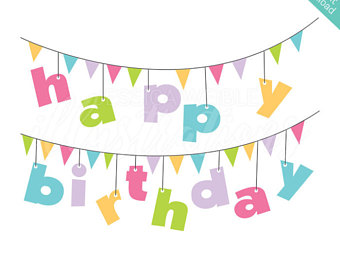 340x270 Birthday Banner Etsy