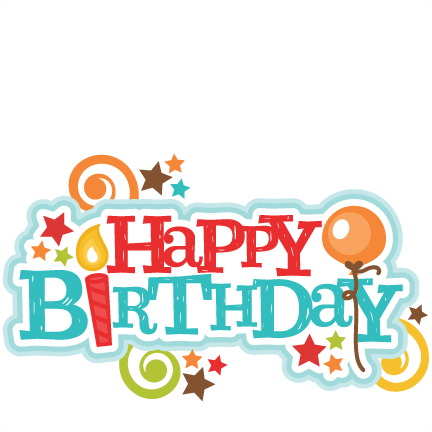 432x432 Birthday Clipart Scrapbook