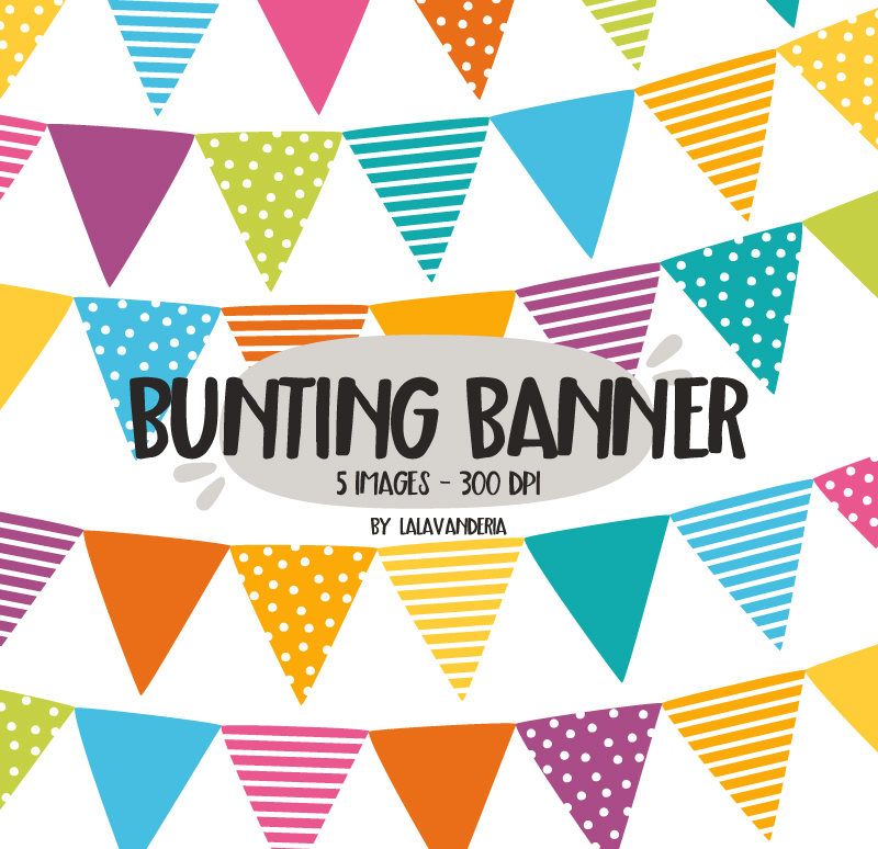 800x774 Bunting Banner Clipart. Birthday Clip Art. Colorful Party Banner