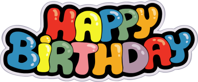 400x167 Happy Birthday Banner Clip Art