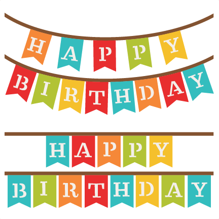 432x432 Happy Birthday Banner Clip Art Many Interesting Cliparts