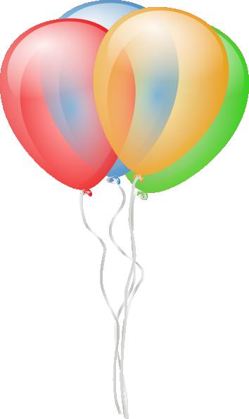 354x597 Balloons Clip Art