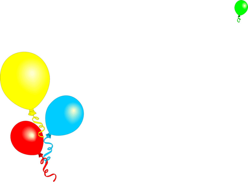 830x611 Best Birthday Border Clipart
