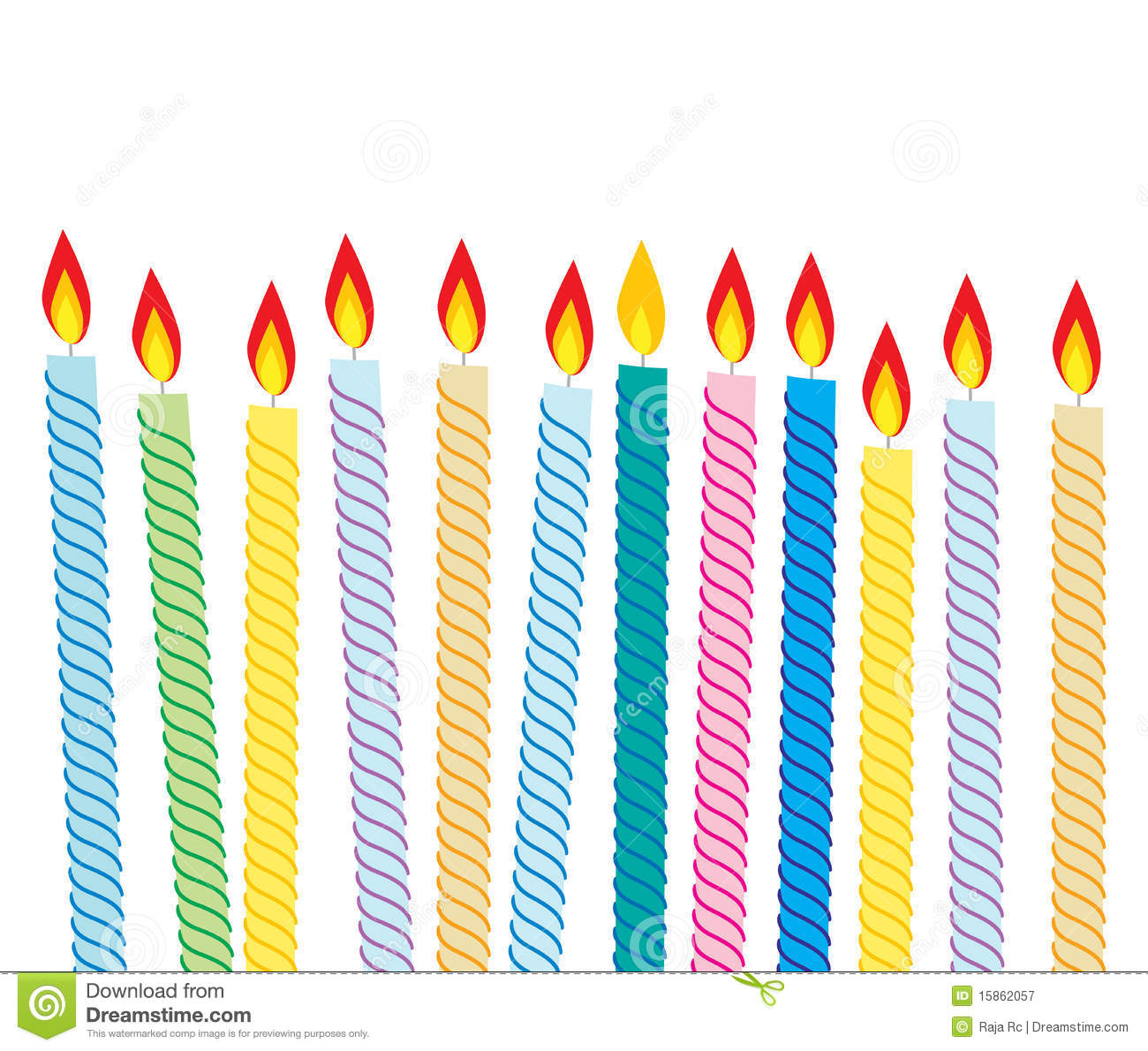 1300x1190 Birthday Candle Border Clipart