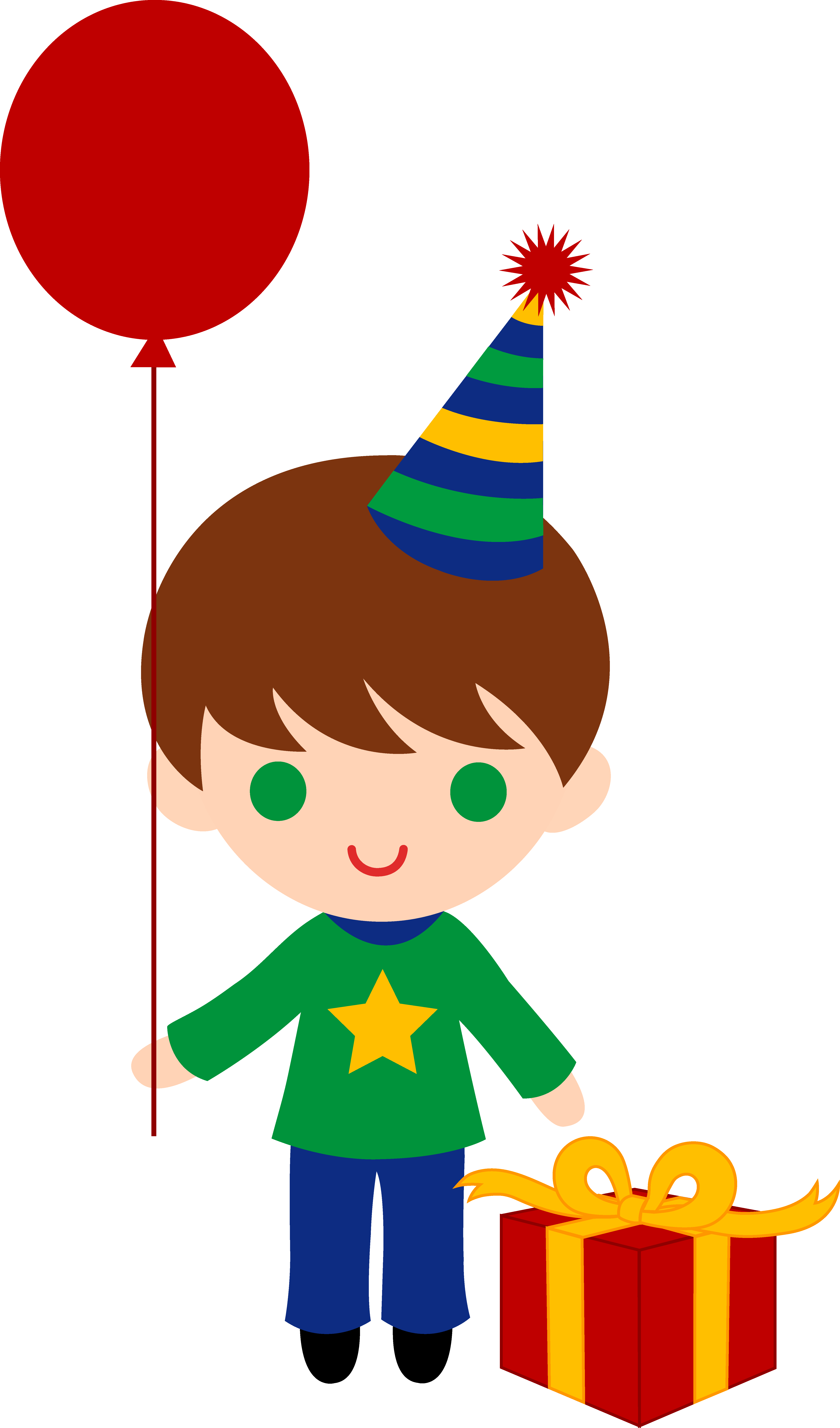 4949x8408 Little Birthday Boy Clip Art