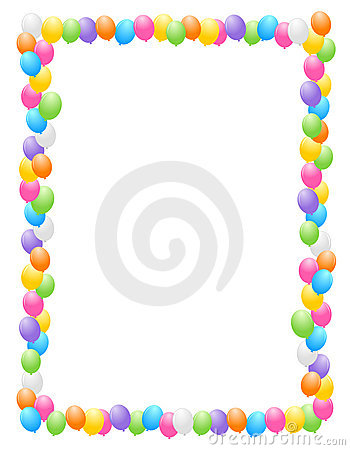 350x450 Graphics For Birthday Balloon Borders Free Graphics Www