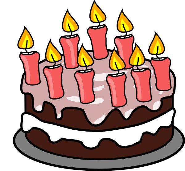 600x555 Boy Birthday Cake Clip Art Free Clipart Images Clipartandscrap