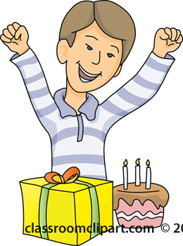 260x350 Celebration Clipart Boy Birthday