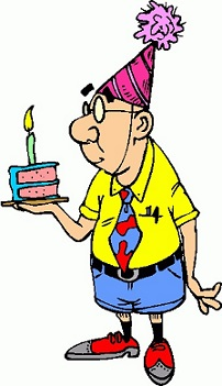 202x351 Man Birthday Clip Art