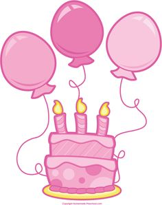 236x298 Cute birthday cake clipart